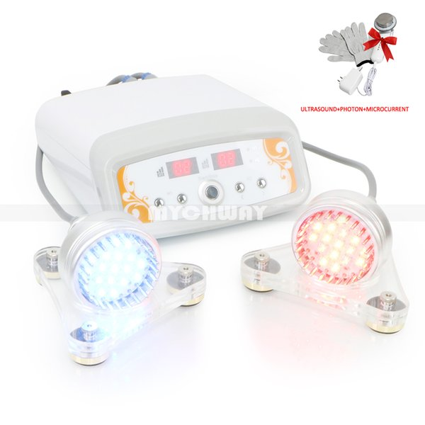 New Arrival 7 Colors Photon Led Micro Current Beauty Device Face A Free Gift Ultrasonic Microcurrent Device