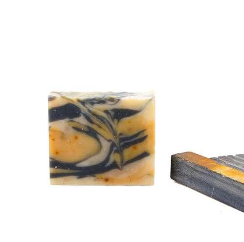 Bambuskohle Zitrusseife tief und schonend reinigen und reinigen Poren Handgemachte Seife befeuchten