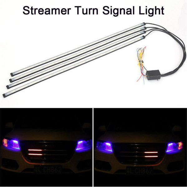 Professional Car Ambient Light Network Lights 5050 Horses Streamer LED Colorful Atmosphere Lamp Chassis Lights Turn Signal