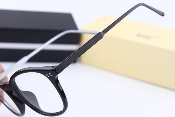 Luxury-MB614 Brand New Eye Glasses Frames for Woman Men Glasses Frame TR90 Optical Glass Prescription Eyewear Full Frame