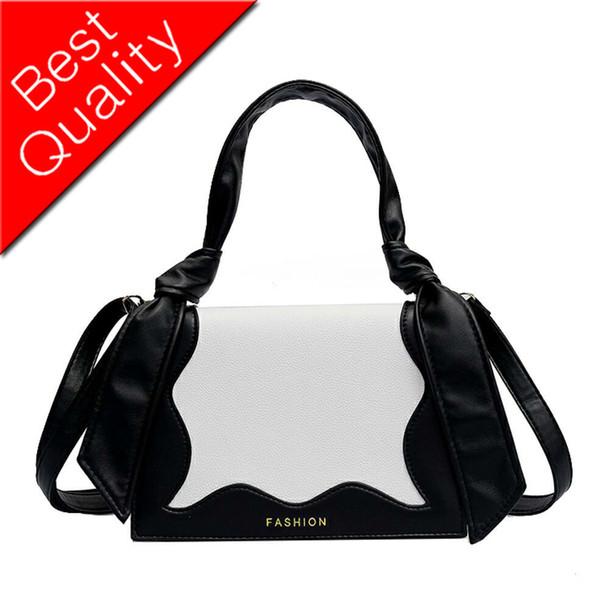 Einfache Art- und Weisedame Small Square bag 2018 Neue Qualität PU-lederne Entwerfer-Handtasche der Frauen vertäfelte Schulterkurierbeutel