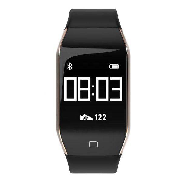 YD818 Akıllı Bilezik Spor Izci Pedometre Kalp Hızı Monitörü IP68 Su Geçirmez Smartwatch Çağrı Hatırlatmak Spor Bileklik DHL shippingSTY164