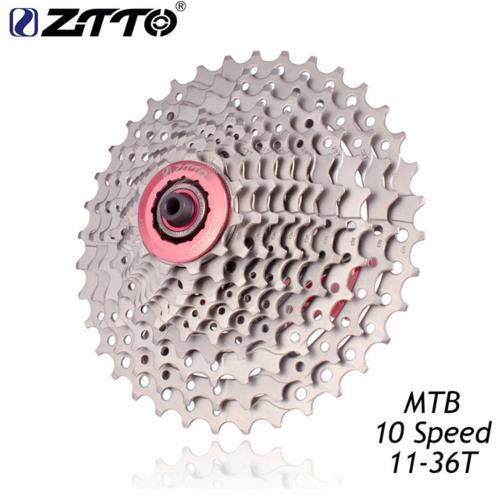 ZTTO MTB Mountain Bike Bicycle Parts 10Speed 11-36T Freewheel Cassette Compatible for Parts M590 M610 M675 M780 XT SLX