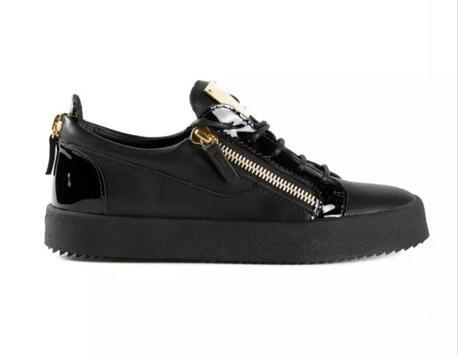 new lifestyle speical offer the latest 2019 Top Quality Mens Women Shoes,zanotti Black Leather High-top ...