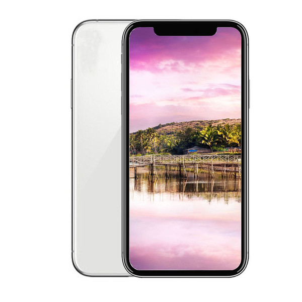 Unlocked Goophone XS 5.8inch 1GB RAM 8GB ROM Real Face ID Mobilephone 3G WCDMA Show fake 4G LTE Smartphone with sealed box