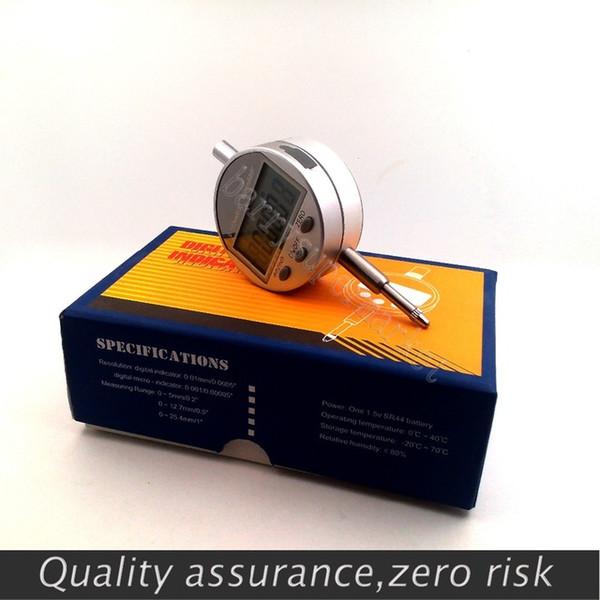 """best selling Digital Dial Indicator Gauge Digital indicators 0-12.7mm 0.5"""" 0.01mm 0.0005 electronic dial gauge testers tools"""