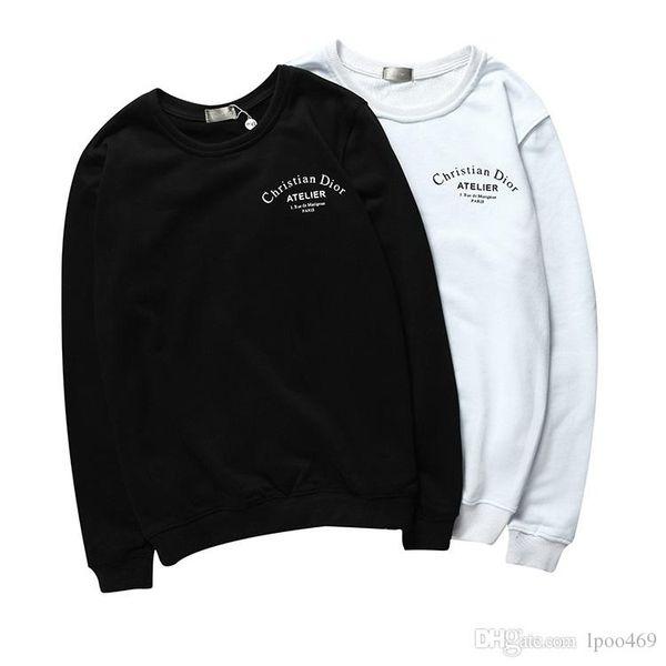 Neue Designer Pullover Pullover Männer Marke Tops Langarm Rundhalsausschnitt Kaschmir Mischung Stickerei Dünne Wolle Frühling Herrenbekleidung