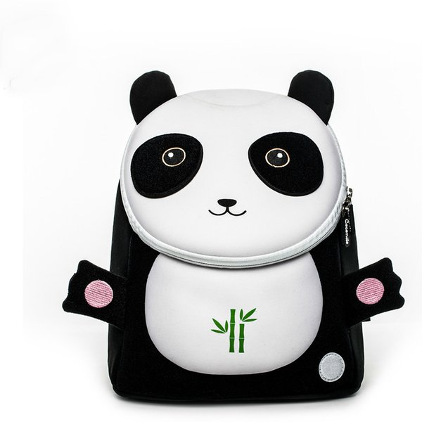 Factory Outlet Baby Toddler Gilrs Cocomilo Brand School Bags 2-5 Years Old 3d Cartoon Panda Schoolbag Kids Boys School Backpacks