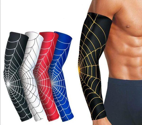 Esportes de Teia de aranha Elbow Pads Respiração antiderrapante faixa de proteção cotovelo punho De Tênis de badminton Engrenagem de equitação
