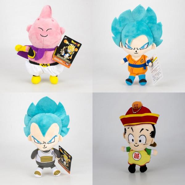 God Of Saiyan Plush Toys Dragon Ball Z Stuffed Animals Doll Japanese Anime Cartoon Kids Gift 12 5rn F1