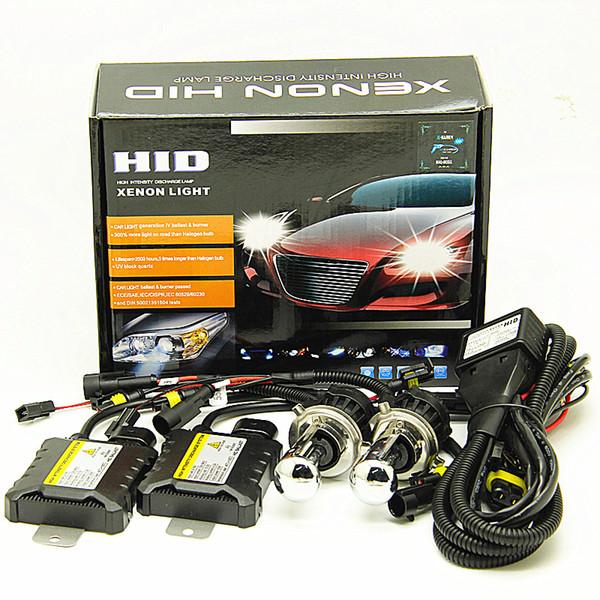 4300K 6000K 8000K 12v farol do carro 55W H4-3 12V Bi Xenon H4 Kit bi-xenon lâmpada HID Conversion