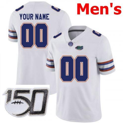 Мужчины # 039; S Белый с 150-й патч
