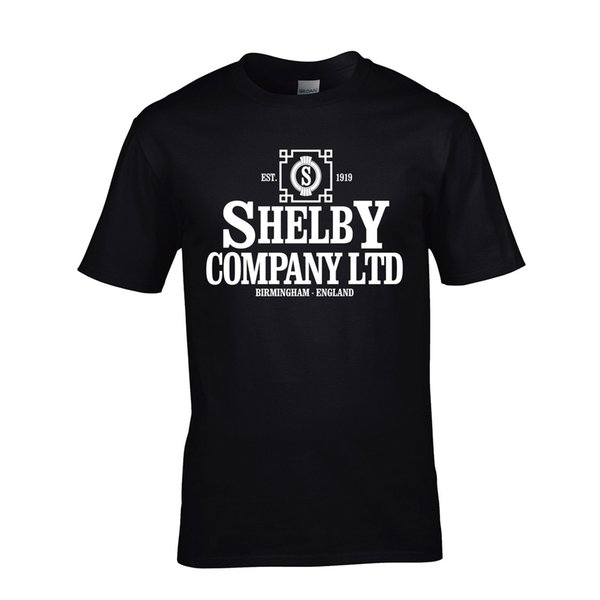 Shelby Company Limited T-shirt New Peaky Blinders T-shirt Sml - Xxl Tee Thomasnew T Shirts Funny Tops Tee New Unisex Funny Tops