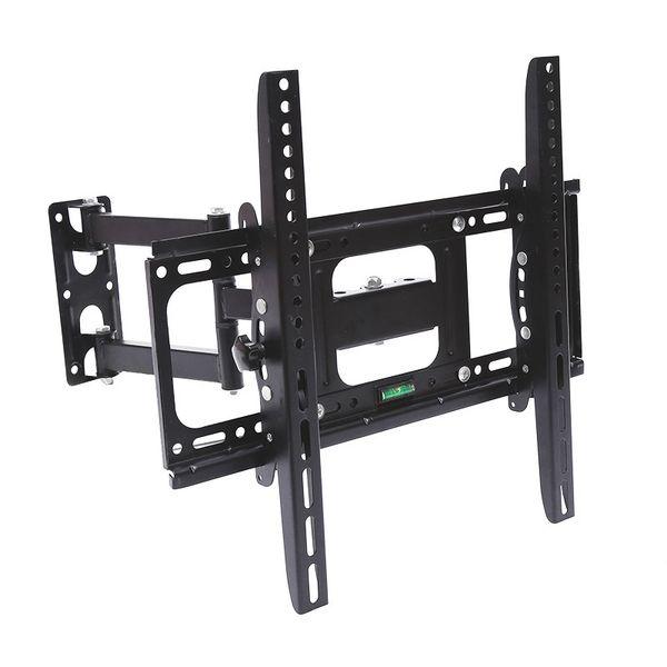 Devirme TV Duvar Montaj Dirseği esnek Televizyon standı için 32 37 40 42 47 50 55size LED LCD Plazma Düz Ekran Monitör