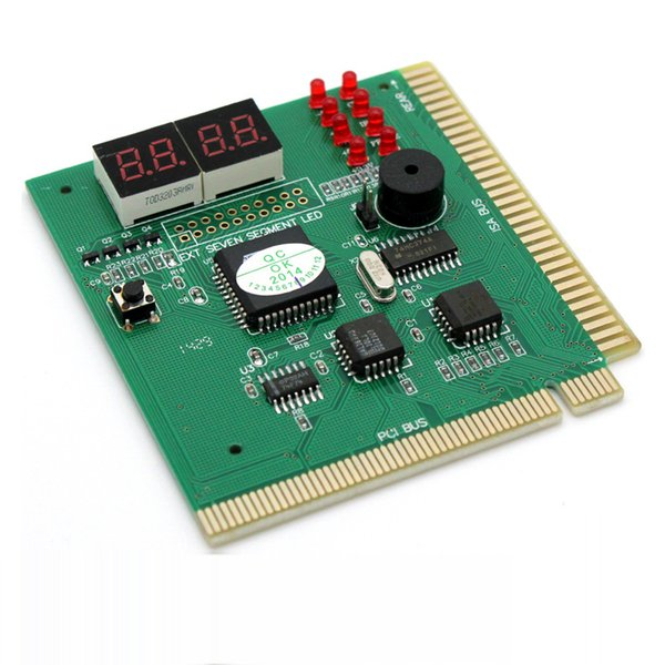 4-Digit PCI Post Card LCD Display PC Analyzer Diagnostic Card Motherboard Post Tester Computer Analysis Networking Tools