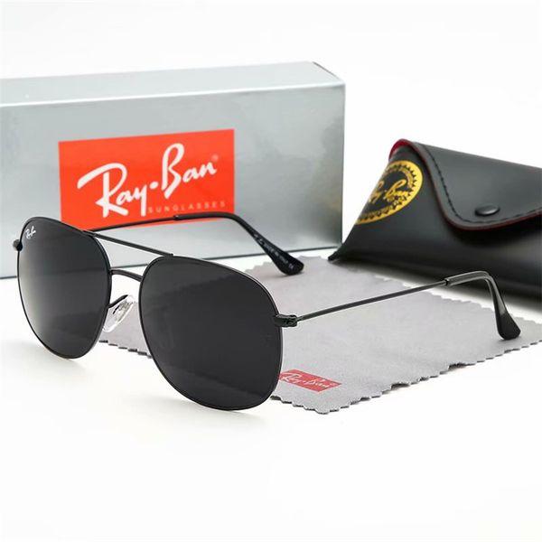Nuevo Arrial Steampunk gafas de sol mujeres hombres marco de metal doble puente uv400 lente Retro Vintage gafas de sol gafas 8 colores con caja