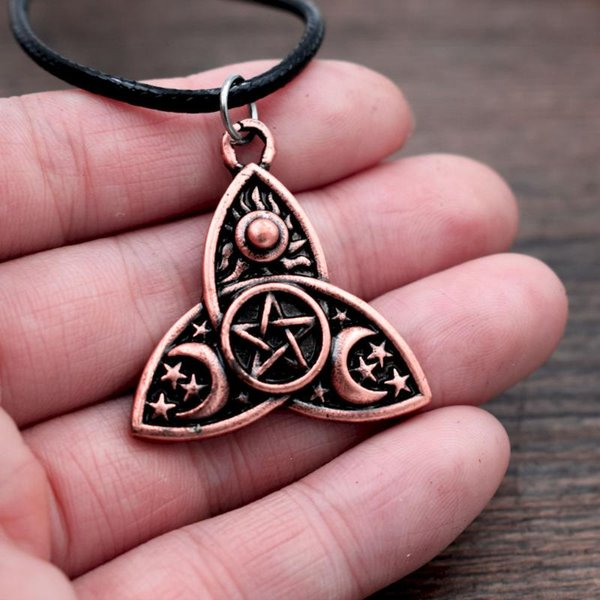 Goddess Pagan Wicca Pendant Necklace