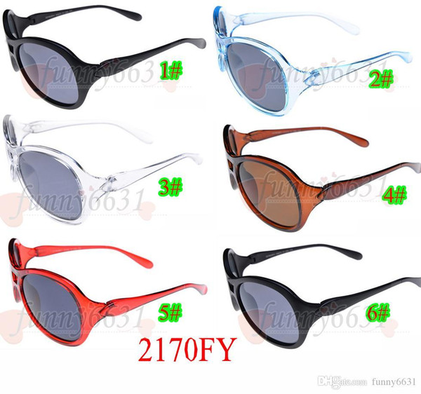 ESTATE donne di nuovo modo esterno riflettente abbagliano occhiali da ciclismo di colore rotondi signore zuccherini guida occhiali 6 colori spedizione gratuita