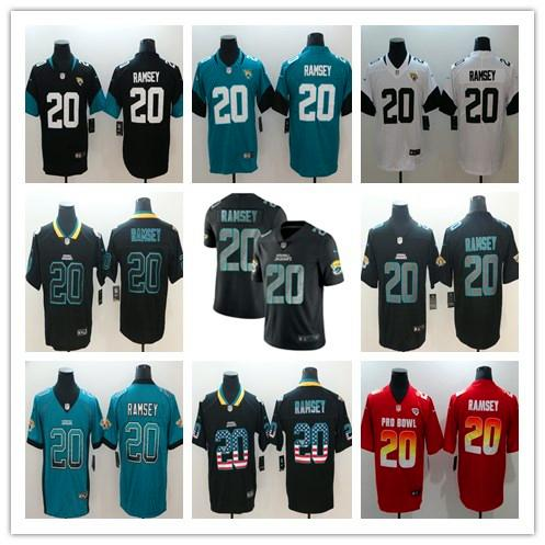 separation shoes 5d6b2 adffe 2019 Mens 20 Jalen Ramsey Jacksonville Jersey Jaguars Football Jersey  Stitched Embroidery Jaguars Jalen Ramsey Color Rush Football Jerseys Tie  Dye ...