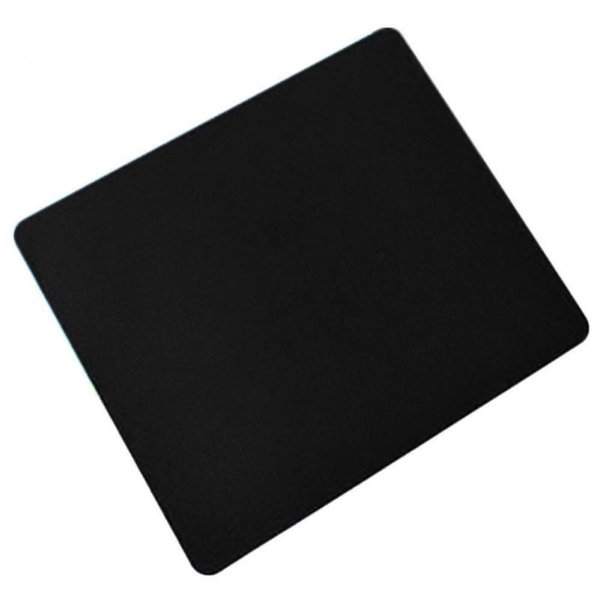 Wholesale New Black Slim Square Mouse Pad Mat Mousepad For PC Optical Laser Mouse Trackball Mice Mouse Mat