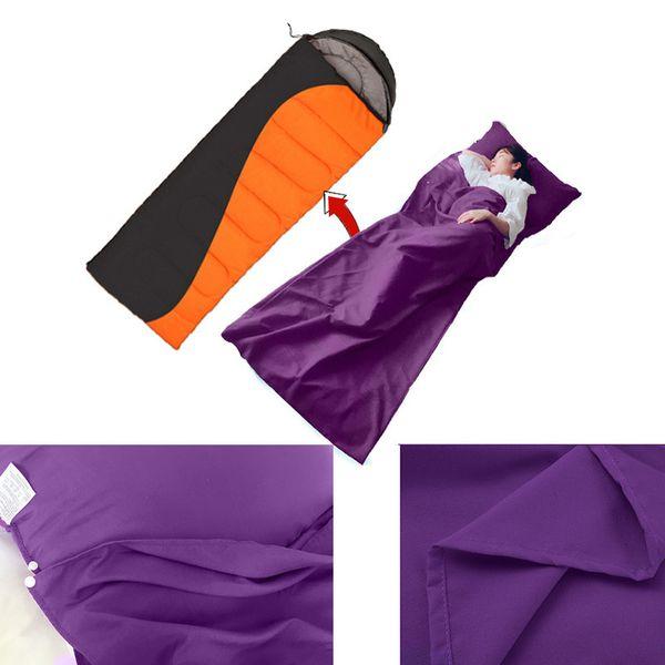 190 * 75 cm Umschlag Schlafsack Erwachsene Camping Outdoor Mini Walking strand Schlafsäcke Ultraleicht Reisetasche Frühling Herbst