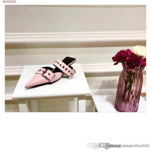 2019 sandálias para mulheres, botas de salto alto, sapatos femininos para mulher com furos para pregos, tamanho 34-42, altura do salto 4 cm