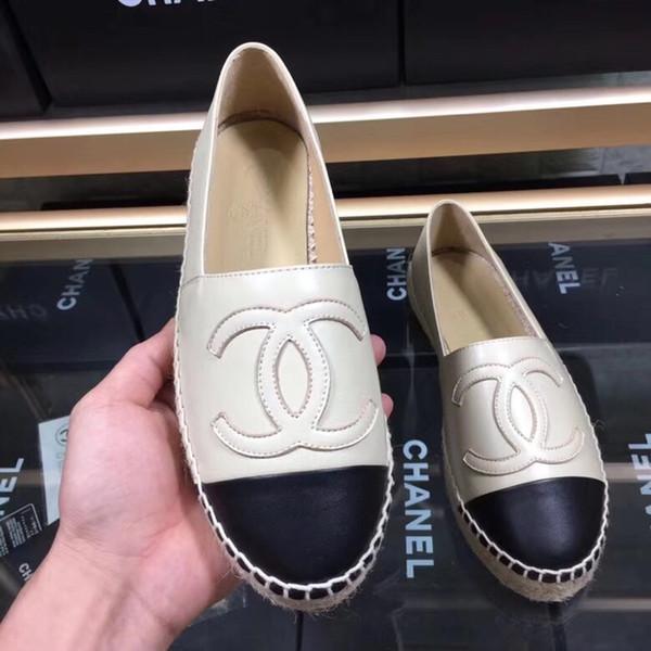Üst Satmak El Yapımı kadın Düşük Üst Espadrilles Balıkçı Koyun Deri Ayakkabı Rahat Sneakers Kauçuk Taban Ladys Düz Kayma-On Elbise Ayakkabı 35-42