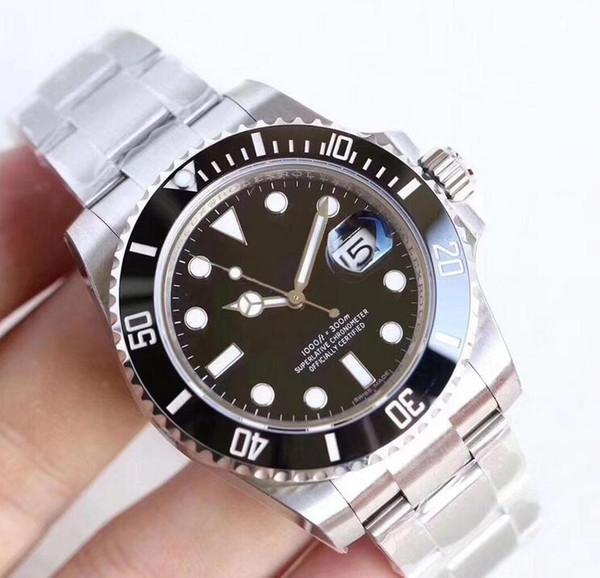 top popular Top Quality Men Watch Quality Luxury Watch 2019 New Automatic Mechanical Movement Watch Sapphire life Waterproof Wristwatch 2019