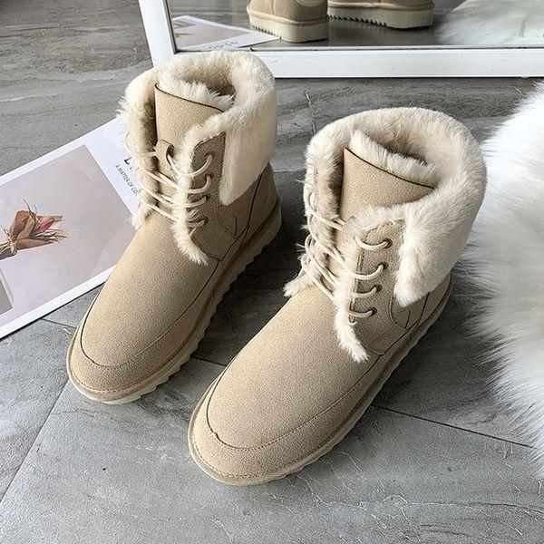 Knöchel Schuh Damen Damenstiefel ArtNrXdx Schnee Ferse Beiläufige Frauen Winter Winterstiefel Schuhe Nette Fashion Warme Flache Großhandel Stiefel MUVzSqp
