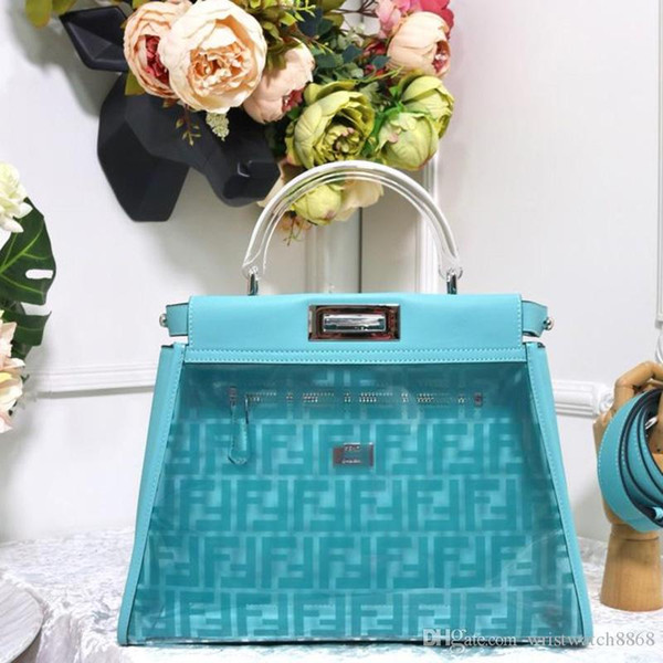 designer famous luxury women coated canvas with genuine leather mini reversible double side tote bags handbags shopping bag 8BN290 ro