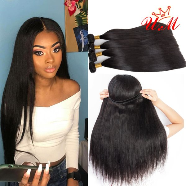 Indian Virgin Human Hair Straight Extensions