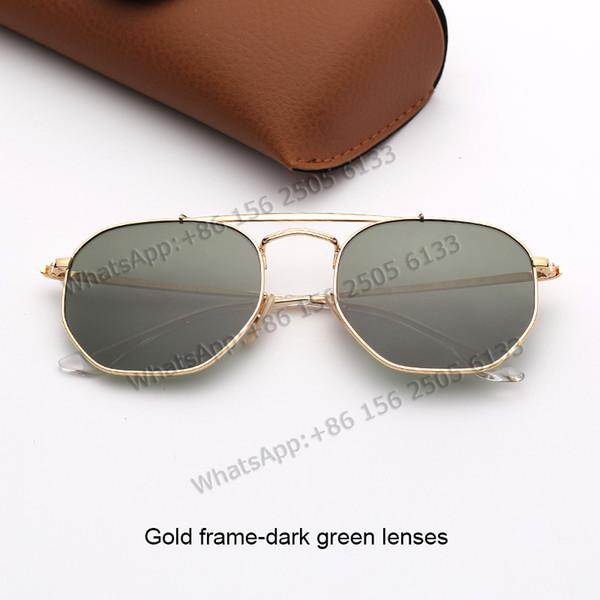 lenti verde oro frame-scuro