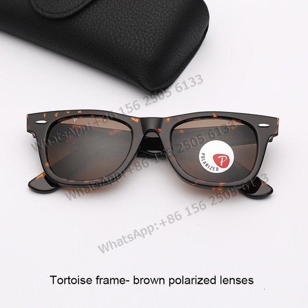 Tortoise Frame- коричневый поляризованные линзы