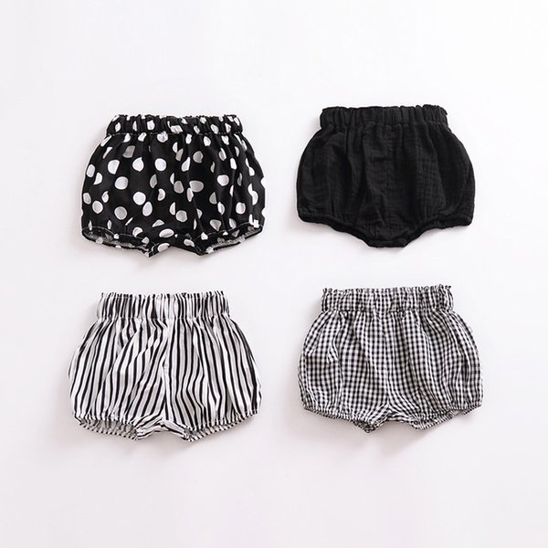 Baby Girl Designer Shorts Clothes Printed Kids Bread Shorts Dot Rubber Band Cotton Blend Elastic Band 40
