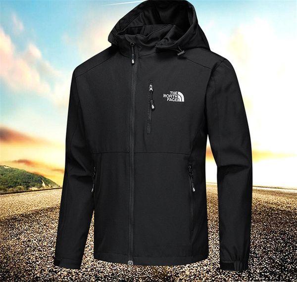 top popular Men's NF Jackets Designer Coat Autumn The North Windbreaker Coat Face Stretch Windstoppers Casual Zip Outwear Waterproof Sports Tops C8702 2019