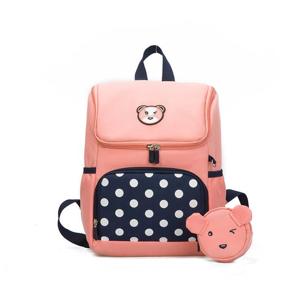 New Cute Kids School Bag Cartoon Mini Plush Backpack Toy for Kindergarten Boy Girl Baby Children's Gift Student Lovely Schoolbag