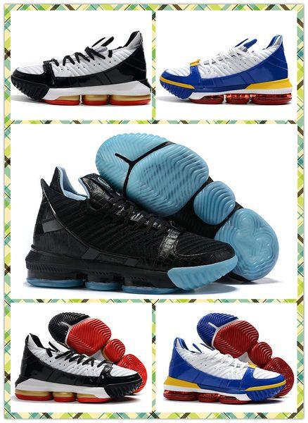 LeBron 16 SB Superman Men Basketball Shoes James 16 Glow in the Dark Black Glow HighQuality 16s Remix Mens Desinger Sneakers