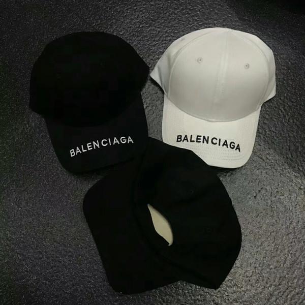 Unisex Lüks Paris Marka Mektup Beyzbol Şapka Kadınlar Pamuk Düz Beyzbol Kapaklar Baba Kemik Snapback Slipknot Şapkalar
