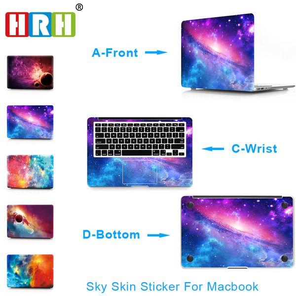3in1 Starry sky Laptop Skin Vinyl Decal Sticker for Macbook Air A1932 Case 2018 11 12 13 15
