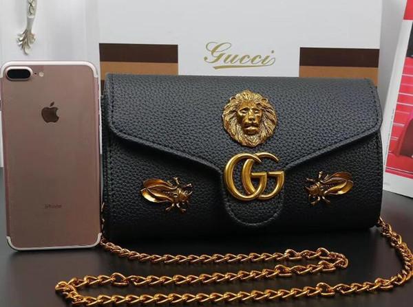 New Designer Handbags leather embossed fashion Women bag chain Crossbody Bag Brand Designer Messenger Bag 02