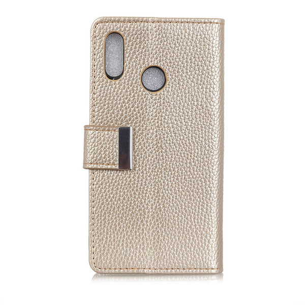 Hasp Lichee Pattern Luxury Leather Cover Case For Vodafone Smart C9 N9 Lite N9 E8 V8 N8 X9 Case Wallet Flip Cover Bag