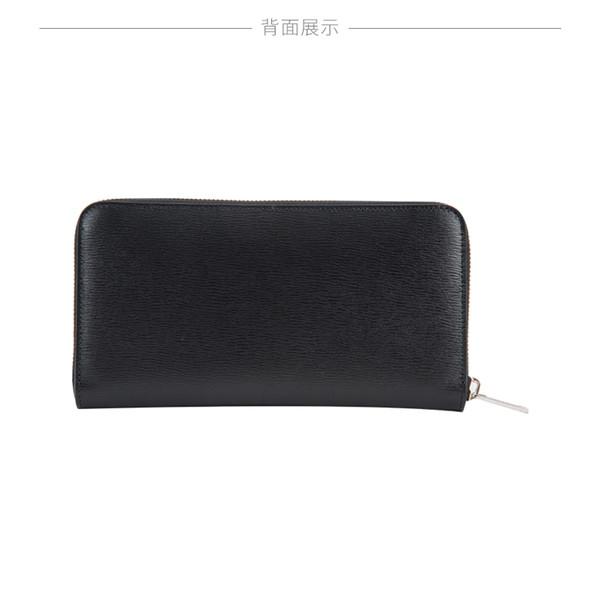 2019 New High Quality Dior/dior CD2ABBC0111XXT Men's Fashion Long Purse Zipper Wallet Pure Black, Non-stop, Non-pull Wire dior bags