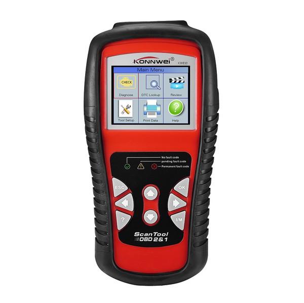 Car OBD2 Scanner Diagnostic Tools Auto Scan Real-time Fault Error Code Reader Check Engine Vehicle 12V Battery Tester