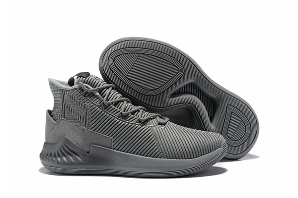 Best D Rose 9 Cool Grey Basketball Shoes Derrick Rose 9 Shock Pink White Black Gold Red Trainers Sneakers