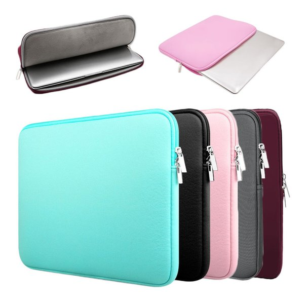 Laptop Bag Notebook Cover Sleeve Case Tablet PC Pouch Plush Inner Surface Protection Soft Portable New