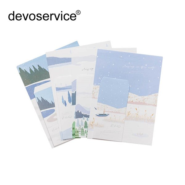 9Pcs/Set Cute Chinese Style For Card Scrapbooking Gift 3 Envelops+6 Writting Paper Envelope Making Colored Greeting Cards Gifts