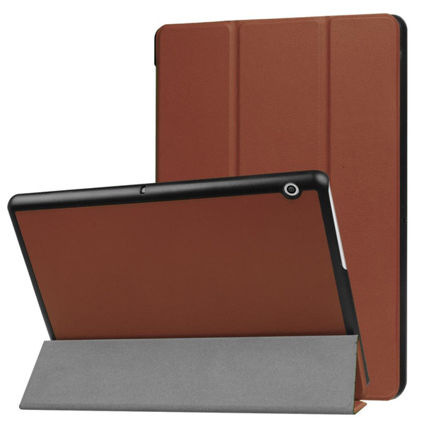 """wholesale Leather Case Flip Cover Case For Huawei MediaPad T3 10.0 AGS-L09 AGS-L03 9.6"""" Case Stand Cover +Free Gift"""