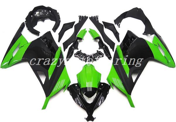 New Injection Mold ABS Motorcycle bike fairings kits Fit For kawasaki Ninja 300 EX300 2013-2017 Ninja 300 13 14 15 16 17 cool green black