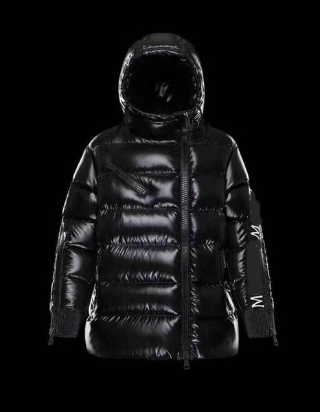 Winter Jacket New Mens Designer Jackets Solid color Zippers Hooded High Quality Thicken Luxury Down Jacket Comfortable Warm Coat Size 0-3