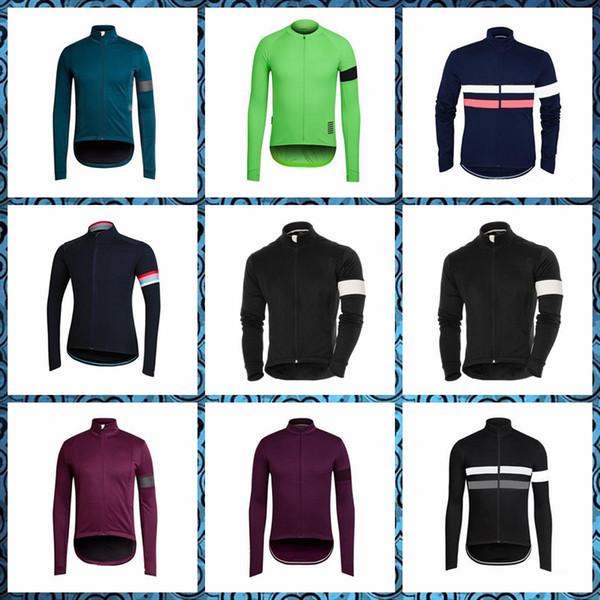 Rapha equipe ciclismo moda de manga comprida jersey bicicleta respirável clothing quick-dry bicicleta sportwear entrega gratuita 51833